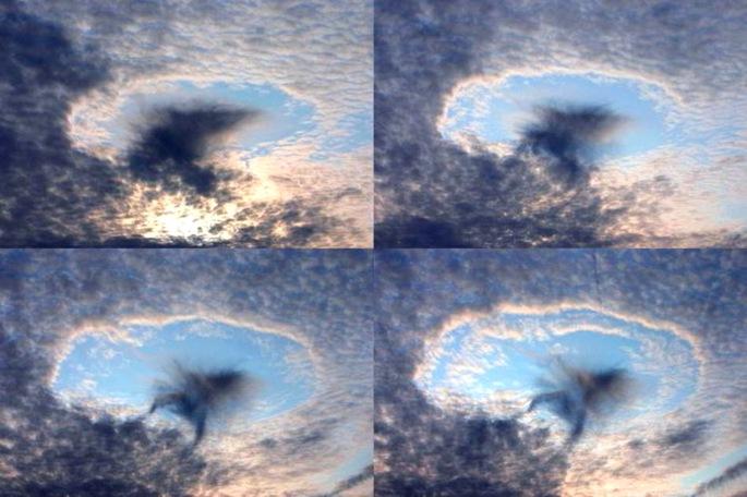 Pěkná díra v oblaku