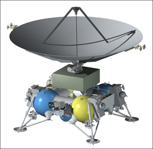 Ruský Ganymede Lander
