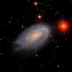 NGC 4654 v optickém oboru